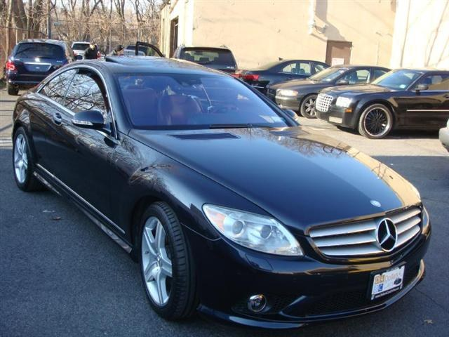 2008 MERCEDES CL-Class 2dr Cpe 55L V8 Obsidian Black  on Basketball interior Rarest color combo
