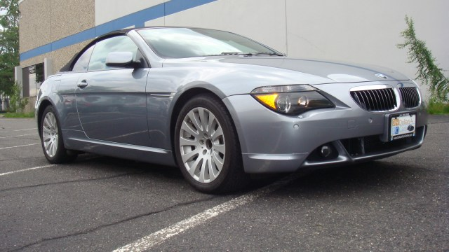 2005 BMW 6 Series 645Ci 2dr Convertible 2005 BMW 645ci Heated leather seats convertible navigati