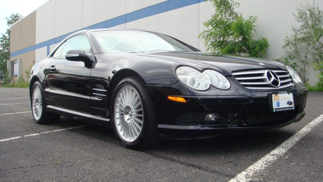 2003 MERCEDES SL-Class 2dr Roadster 55L AMG one owner clean carfax 2003 Mercedes SL55 AMG Hardt