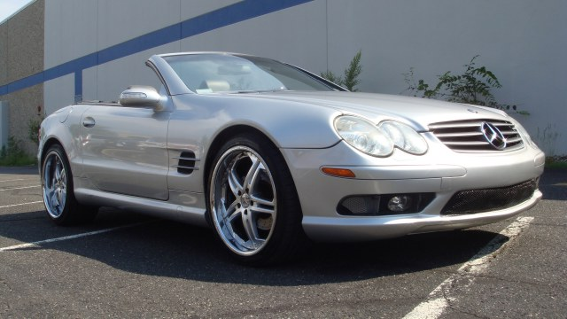 2004 MERCEDES SL-Class 2dr Roadster 50L Clean carfaxFlorida car 2004 Mercedes Benz SL500 hardto
