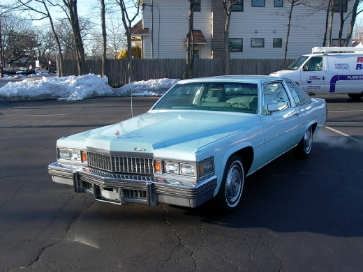 1978 Cadillac Coupe Deville 2 Door Coupe