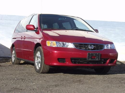 Honda Odyssey 2003 Interior. 2003 Honda Odyssey EX-L