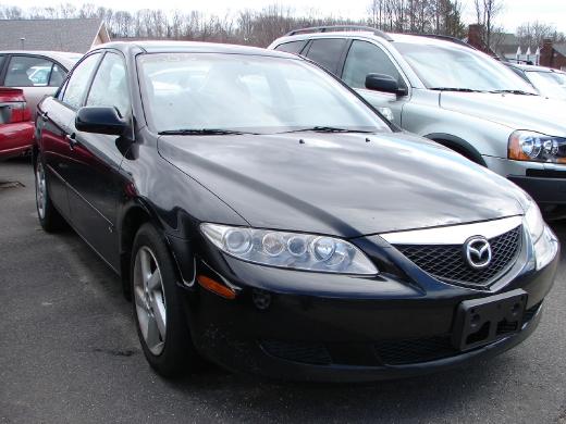 Mazda 6 2003 Black. 2003 Mazda MAZDA6 S New