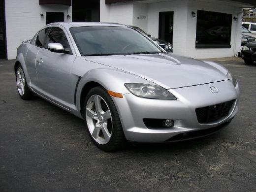 Mazda rx8 2004 silver