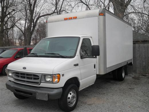 2001 Ford Econoline Commercial Cutaway Specialty Vehicle