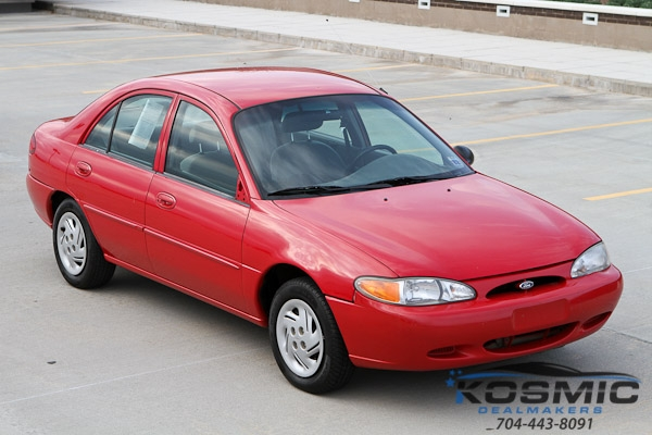 2002 Ford Escort 4 Door Sedan