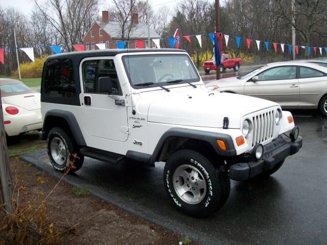 2000 Jeep Wrangler Sport Merrimack, NH