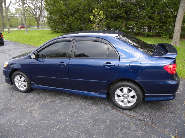 2004 Toyota Corolla West Milton Oh Blue