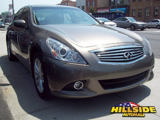 2011 Infiniti G37 Sedan G37x ABS4-Wheel Disc Brakes7-Speed ATACATAdjustable Steering Wheel