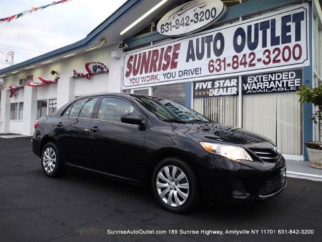 2013 Toyota Corolla 4dr Sdn Auto LE Natl Sunrise Auto Outlet  is the car shopping destination for