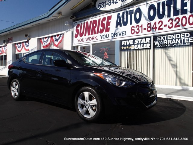 2013 Hyundai Elantra 4dr Sdn Auto GLS PZEV Sunrise Auto Outlet  is the car shopping destination for