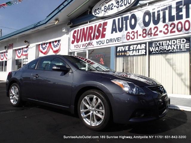 2011 Nissan Altima 2dr Cpe V6 CVT 35 SR Sunrise Auto Outlet  is the car shopping destination for L