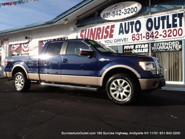 2011 Ford F-150 4WD SuperCrew 145 King Ranch Sunrise Auto Outlet  is the car shopping destination