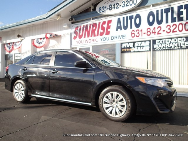 2012 Toyota Camry 4dr Sdn I4 Auto LE Natl Sunrise Auto Outlet  is the car shopping destination fo