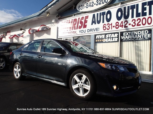 2013 Toyota Camry 4dr Sdn I4 Auto SE Natl Sunrise Auto Outlet  is the car shopping destination fo