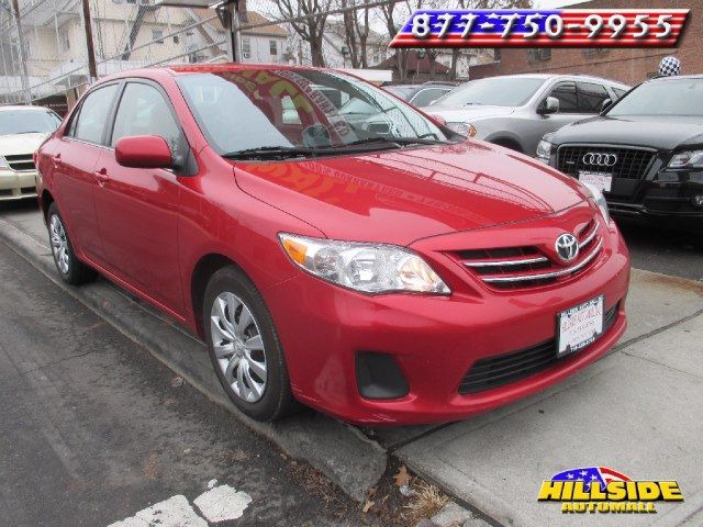 2013 Toyota Corolla 4dr Sdn Auto LE Natl We have assembled the most advanced network of lenders t