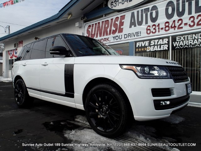 2013 Land Rover Range Rover 4WD 4dr SC Sunrise Auto Outlet  is the car shopping destination for Lo