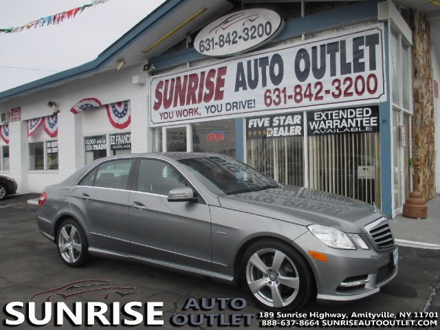 2012 MERCEDES E-Class 4dr Sdn E350 Sport RWD Sunrise Auto Outlet  is the car shopping destination
