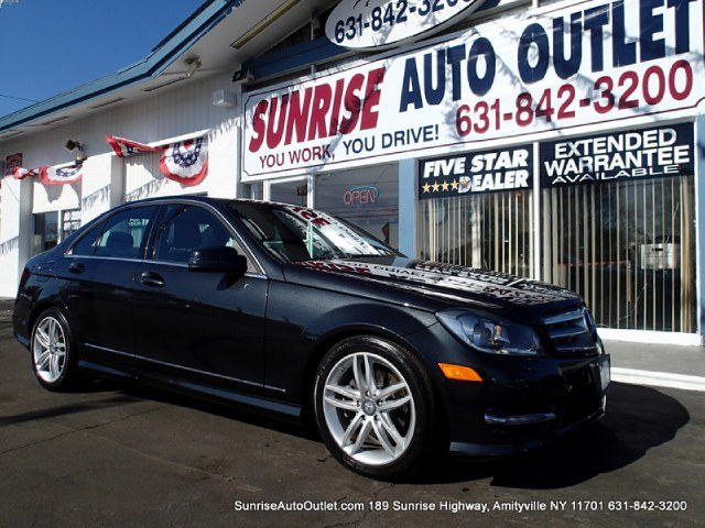2012 MERCEDES C-Class 4dr Sdn C300 Sport 4MATIC Sunrise Auto Outlet  is the car shopping destinatio