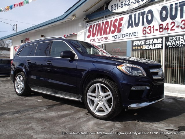2013 MERCEDES GL-Class 4MATIC 4dr GL550 Sunrise Auto Outlet  is the car shopping destination for Lo