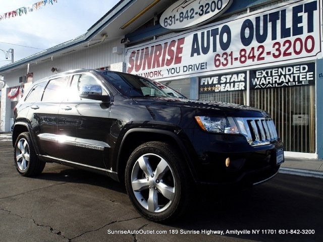 2012 Jeep Grand Cherokee 4WD 4dr Overland Sunrise Auto Outlet  is the car shopping destination for