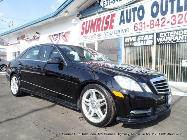 2013 MERCEDES E-Class 4dr Sdn E350 Luxury 4MATIC Lt Sunrise Auto Outlet  is the car shopping dest