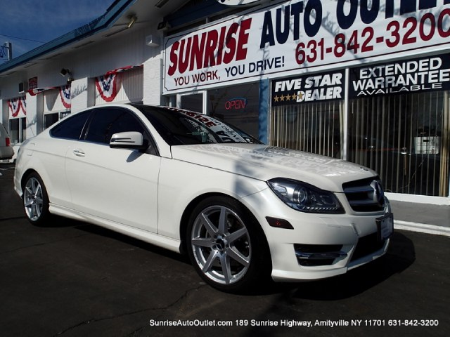 2012 MERCEDES C-Class 2dr Cpe C350 4MATIC Sunrise Auto Outlet  is the car shopping destination for