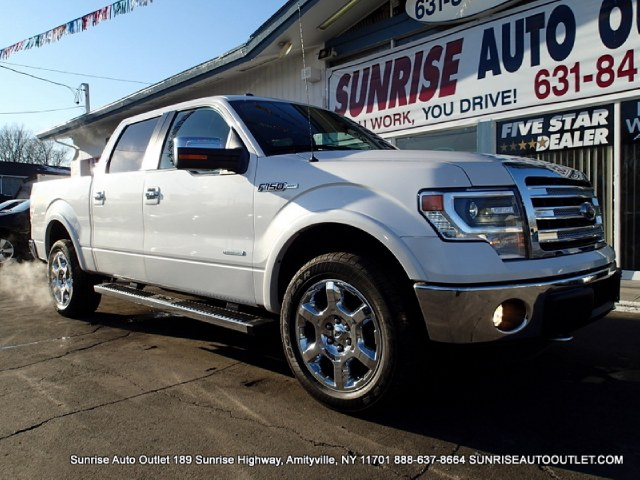 2013 Ford F-150 4WD SuperCrew 145 Lariat THIS IS LOADED LOADED LOADED LARIAT PACKAGE NAVIGATIO