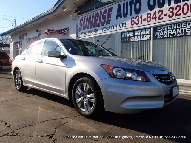 2012 Honda Accord Sdn 4dr I4 Auto SE PZEV Sunrise Auto Outlet  is the car shopping destination for