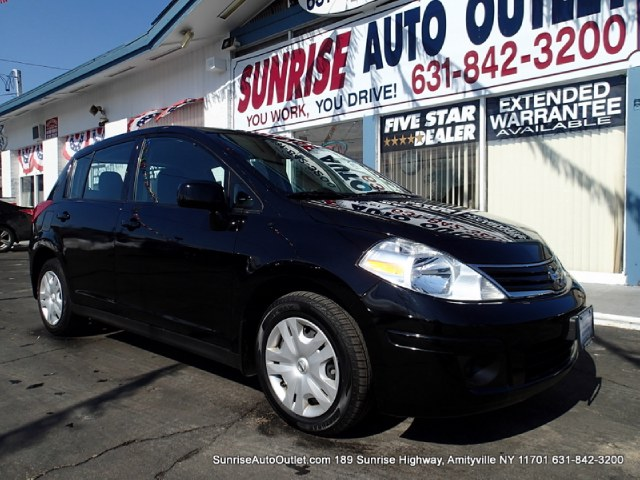 2012 Nissan Versa 5dr HB Auto 18 S Sunrise Auto Outlet  is the car shopping destination for Long