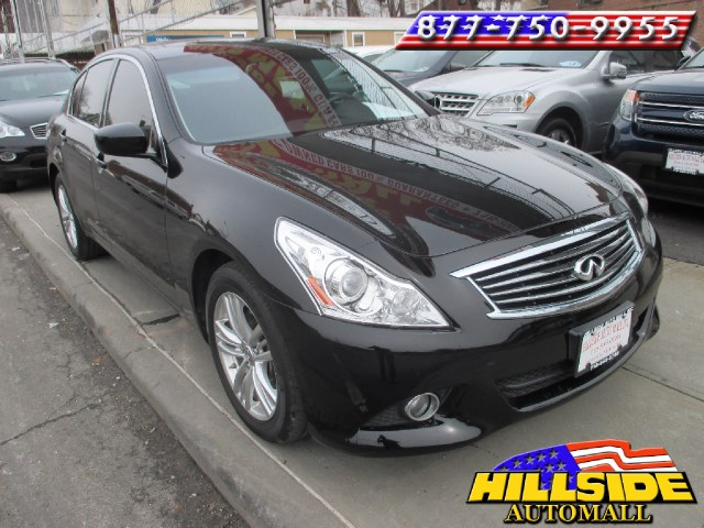 2013 Infiniti G37 Sedan 4dr x AWD We have assembled the most advanced network of lenders to ensure