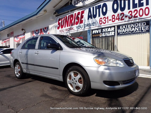 2005 Toyota Corolla 4dr Sdn CE Auto Sunrise Auto Outlet  is the car shopping destination for Long
