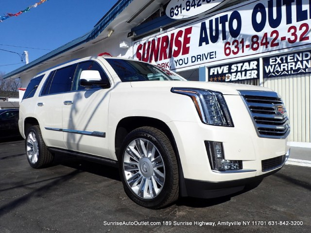 2015 Cadillac Escalade 4WD 4dr Platinum Sunrise Auto Outlet  is the car shopping destination for L