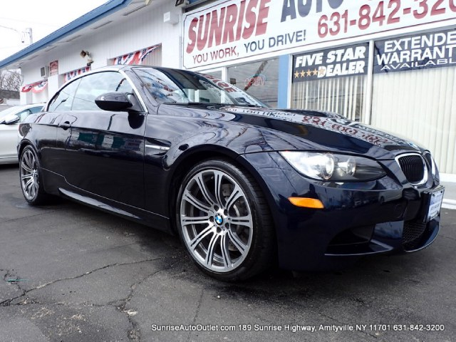 2011 BMW M3 2dr Conv Sunrise Auto Outlet  is the car shopping destination for Long Island Queens