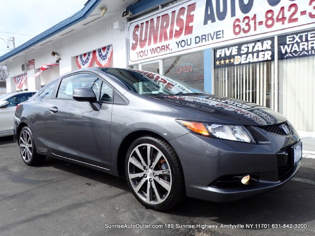 2012 Honda Civic Cpe Si Low Miles Carfax One Owner - Carfax Guarantee This 2012 Honda Civic C