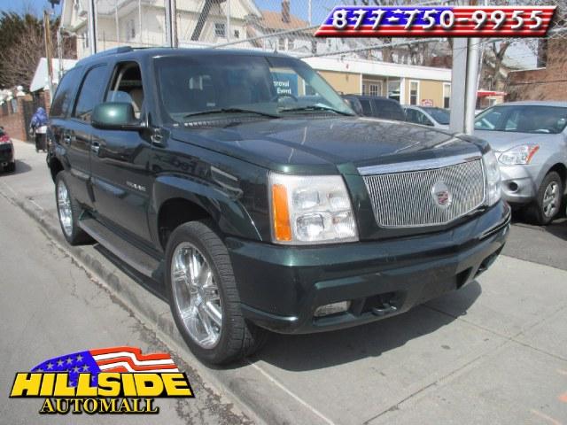 2002 Cadillac Escalade 4dr AWD We have assembled the most advanced network of lenders to ensure yo