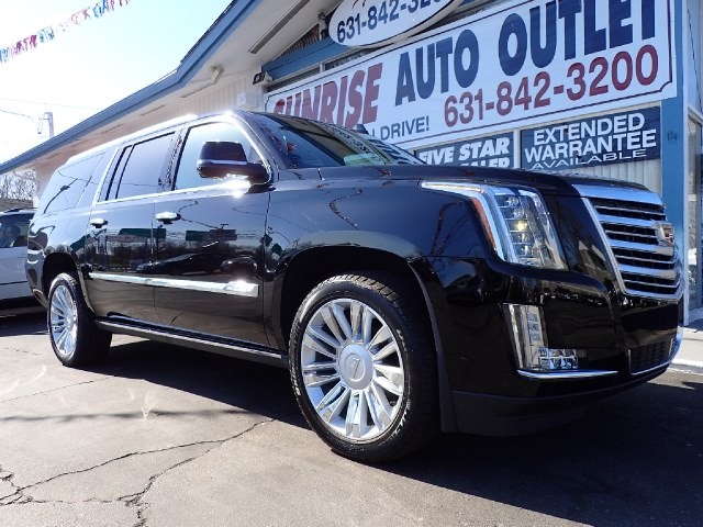2015 Cadillac Escalade Esv Platinum New Arrival Bluetooth Navigation Heated Seats Sunroof