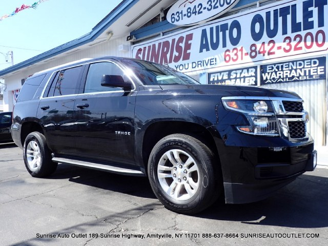 2015 Chevrolet Tahoe 4WD 4dr LT Sunrise Auto Outlet  is the car shopping destination for Long Isla