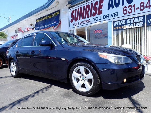 2007 BMW 5 Series 4dr Sdn 530xi AWD Sunrise Auto Outlet  is the car shopping destination for Long