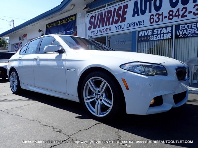 2013 BMW 5 Series 4dr Sdn 535i xDrive AWD Sunrise Auto Outlet  is the car shopping destination for