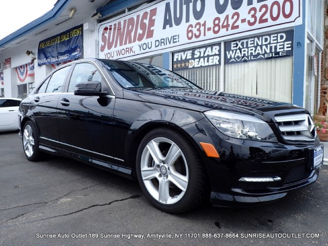 2011 MERCEDES C-Class 4dr Sdn C300 Sport 4MATIC Sunrise Auto Outlet  is the car shopping destinati