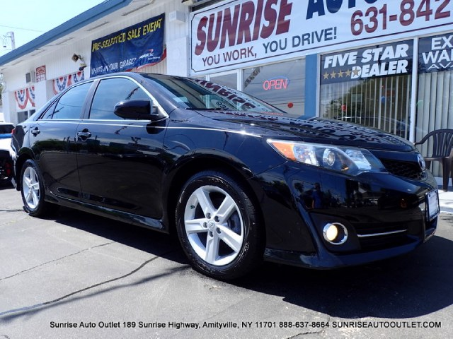 2012 Toyota Camry 4dr Sdn I4 Auto SE Natl Sunrise Auto Outlet  is the car shopping destination f