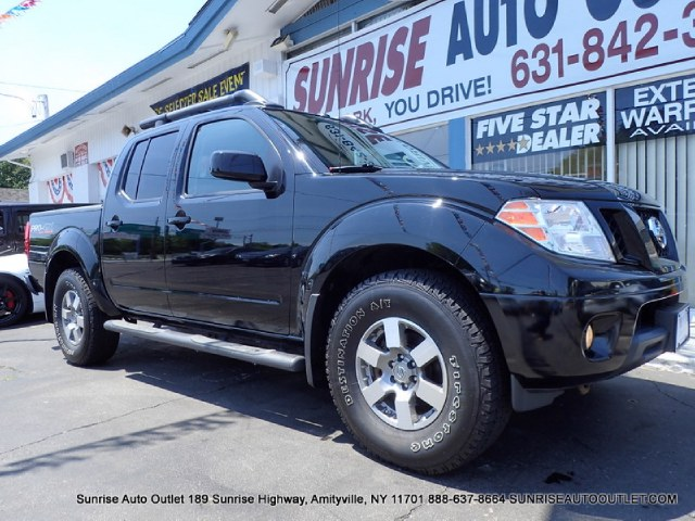 2012 Nissan Frontier 4WD Crew Cab SWB Auto PRO-4X Sunrise Auto Outlet  is the car shopping destina