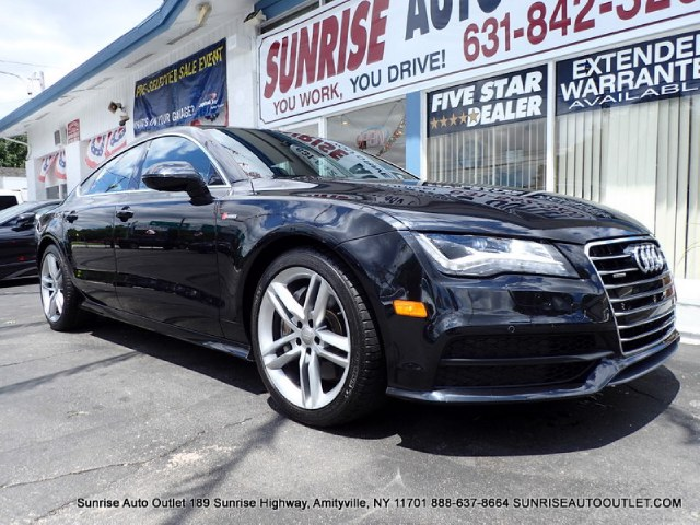 2012 Audi A7 4dr HB quattro 30 Prestige Sunrise Auto Outlet  is the car shopping destination for