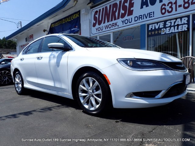 2015 Chrysler 200 4dr Sdn C FWD Sunrise Auto Outlet  is the car shopping destination for Long Isla