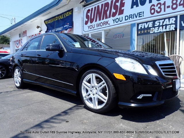 2011 MERCEDES E-Class 4dr Sdn E350 Sport 4MATIC Sunrise Auto Outlet  is the car shopping destinati