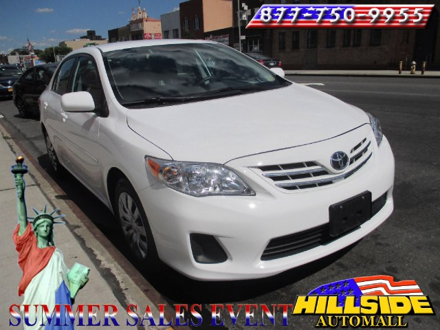 2013 Toyota Corolla 4dr Sdn Auto LE Natl We have assembled the most advanced network of lenders