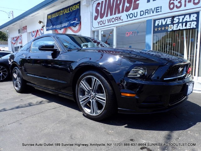 2013 Ford Mustang 2dr Cpe V6 Premium Sunrise Auto Outlet  is the car shopping destination for Long
