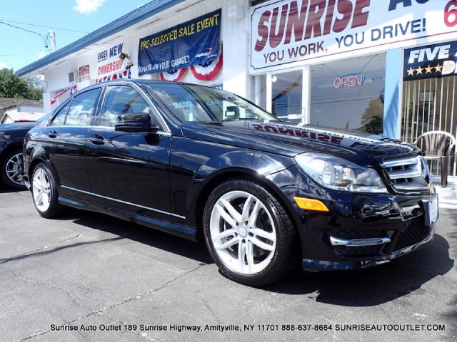 2013 MERCEDES C-Class 4dr Sdn C300 Sport 4MATIC Sunrise Auto Outlet  is the car shopping destinati
