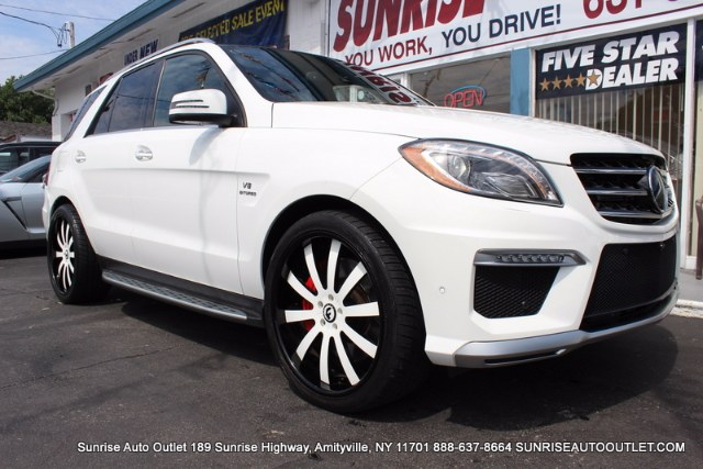 2015 MERCEDES M-Class 4MATIC 4dr ML63 AMG Sunrise Auto Outlet  is the car shopping destination for